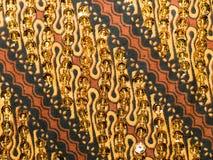 De Batik van Sequined Royalty-vrije Stock Foto