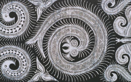 De batiks van Hmong stock afbeeldingen