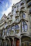 ³ de Batllà de maison à Barcelone - en Espagne Photographie stock