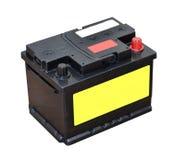 De batterij van de auto stock fotografie