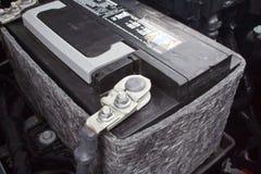 De batterij van de auto Royalty-vrije Stock Foto's
