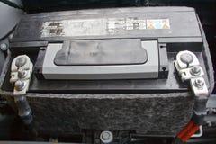 De batterij van de auto Stock Afbeelding