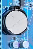 De batterij van het lithium Stock Foto
