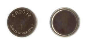 De Batterij van het lithium Royalty-vrije Stock Afbeeldingen