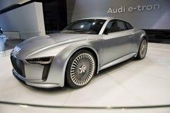 De batterij In werking gestelde Auto van het Concept stock afbeelding