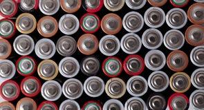 De batterijen is allen u wenst Stock Fotografie