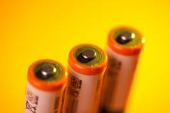 De batterijen van aa Royalty-vrije Stock Foto