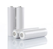 De batterijen van aa Stock Afbeelding