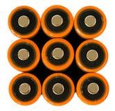 De batterijen van aa Stock Fotografie
