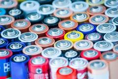 De batterijen van de energie Royalty-vrije Stock Foto's