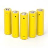 De batterijen van Rechargeables Stock Fotografie