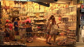 De bazaar van de herinneringswinkel 4K stock footage
