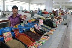 De bazaar van Samarkand stock foto's