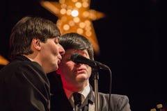 De Beatles-Heropleving die op 23 van December presteren stock foto's