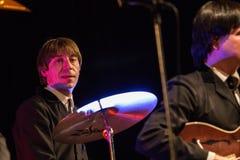 De Beatles-Heropleving die op 23 van December presteren royalty-vrije stock afbeeldingen