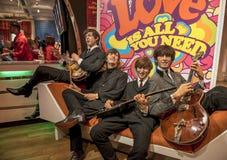De Beatles vaxdiagramen Royaltyfri Foto