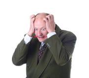 De bediende van het bureau Royalty-vrije Stock Afbeeldingen