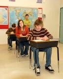De bedriegende Student van de School stock fotografie