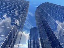 De bedrijfs bouw vector illustratie