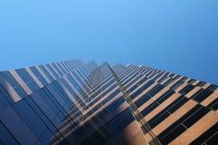 De bedrijfs bouw. royalty-vrije stock fotografie