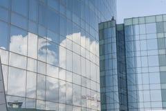 De bedrijfs bouw Stock Afbeelding