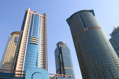 De bedrijfs bouw in moderne stad Royalty-vrije Stock Foto