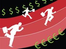 De bedrijfs concurrentie Royalty-vrije Stock Afbeelding