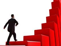 De bedrijfs groei Stock Afbeeldingen