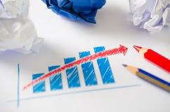 De bedrijfs groei Royalty-vrije Stock Afbeeldingen