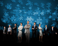 De bedrijfs mensen groeperen zich Royalty-vrije Stock Foto