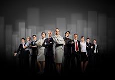 De bedrijfs mensen groeperen zich Stock Afbeelding