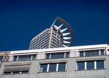 De bedrijfsbouw in Westend, Frankfurt, Duitsland Stock Afbeelding