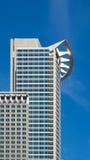 De bedrijfsbouw (Westend-Toren) in het financiële district van Frankfurt, Kiem Royalty-vrije Stock Fotografie