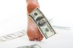 De bedrijfsDollar van de economie en royalty-vrije stock afbeeldingen