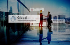 De bedrijfsmensen overhandigen het Concept van de het Groepswerkovereenkomst van het Schokvennootschap Stock Afbeeldingen