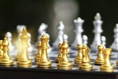 De bedrijfsslagen vereisen een goede strategie Stock Afbeelding