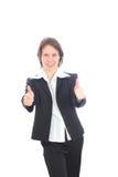 De bedrijfsvrouw. royalty-vrije stock afbeeldingen