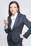De bedrijfsvrouw Stock Foto