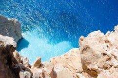 De beelden die van de de zomervakantie van Zakynthos voor een vakantie op het eiland inspireren Royalty-vrije Stock Fotografie