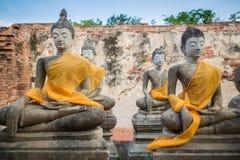 De beelden van Boedha Stock Afbeelding