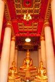 De beelden van Boedha. Royalty-vrije Stock Afbeelding