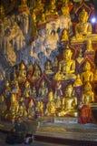 De Beelden van Boedha in Pindaya Hol - Pindaya - Myanmar Royalty-vrije Stock Afbeelding