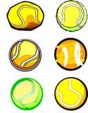 De Beelden van de Bal van het tennis Stock Afbeelding