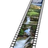 De beelden van de berg met Stock Foto