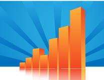De beelden van de grafiek Stock Foto's