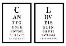 De beelden van de ooggrafiek, vector Stock Afbeeldingen