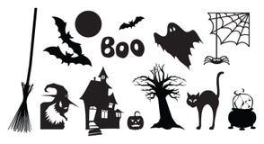 De Beelden van Halloween Royalty-vrije Stock Foto's