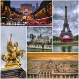 De beelden van Parijs Stock Afbeelding
