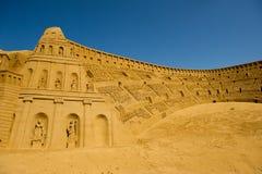 De beeldhouwer van het zand Royalty-vrije Stock Fotografie