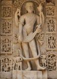 De Beeldhouwwerkendetails van de steenmuur van gfw w Royalty-vrije Stock Foto's